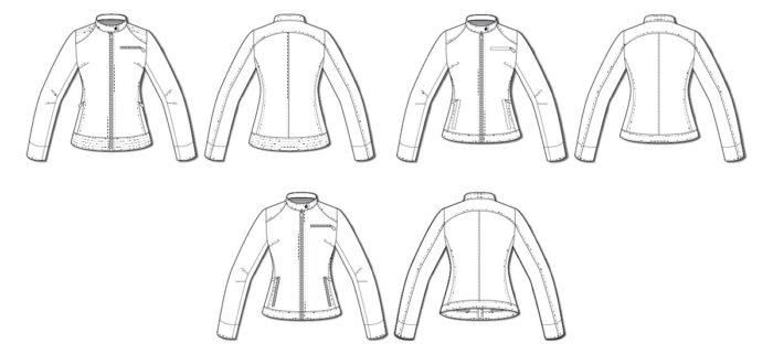 kaneel moto jacket