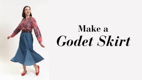 Making a godet skirt