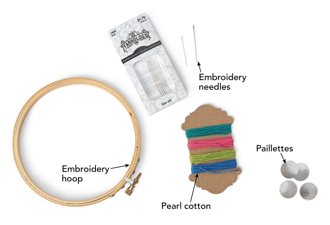 shisha embroidery supplies