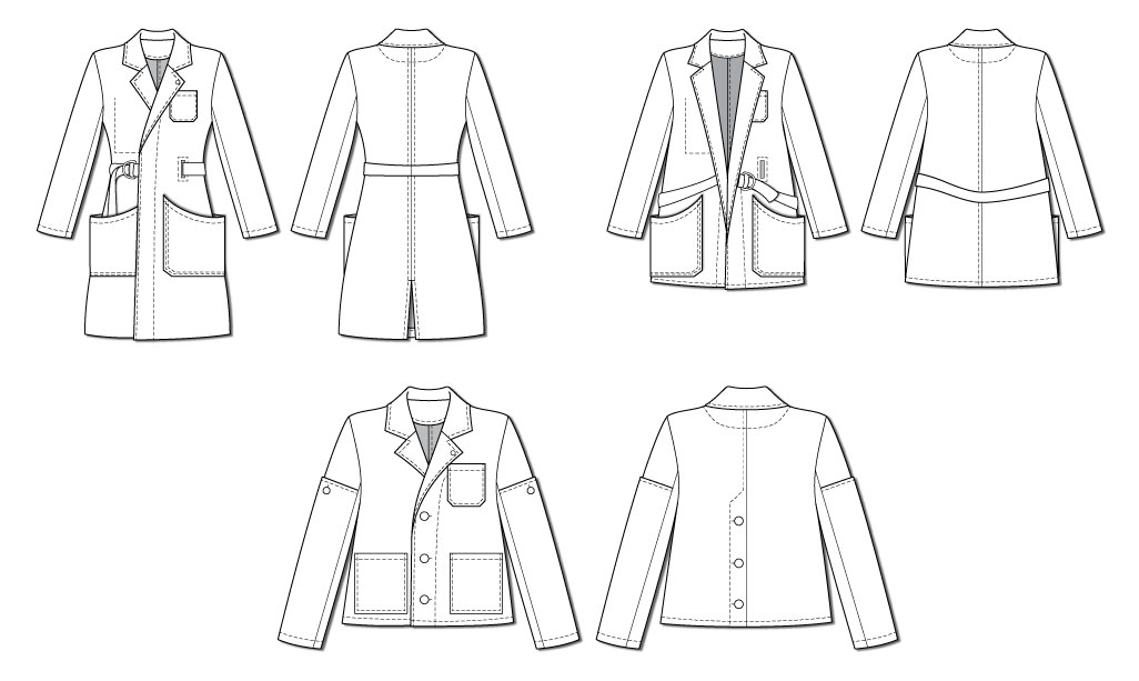 Closet Case Patterns Sienna Maker Jacket illustration