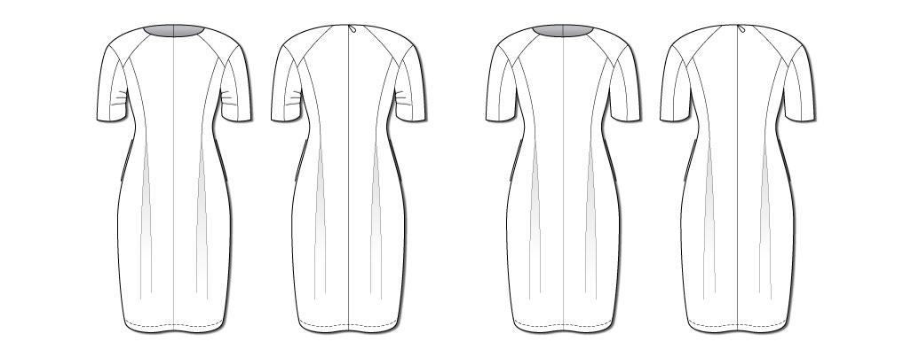 Style Arc Gertrude Designer Dress illustration