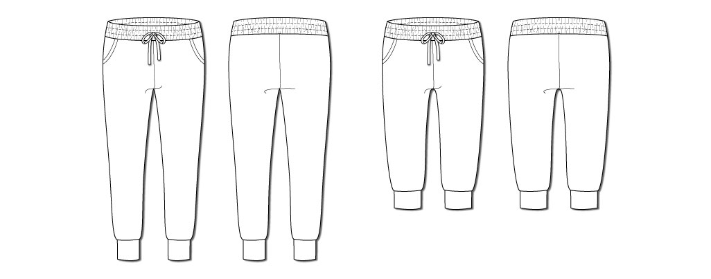 True Bias Hudson Pant illustration