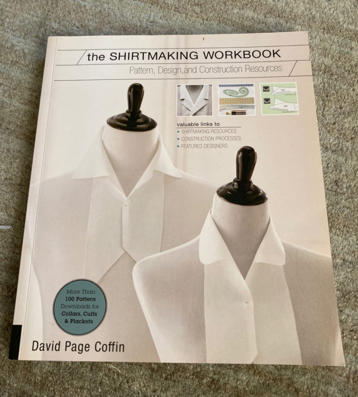 The Shirtmaking Workbook by David Page Coffin book cover