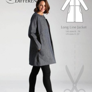 Sew Different Long Line Jacket