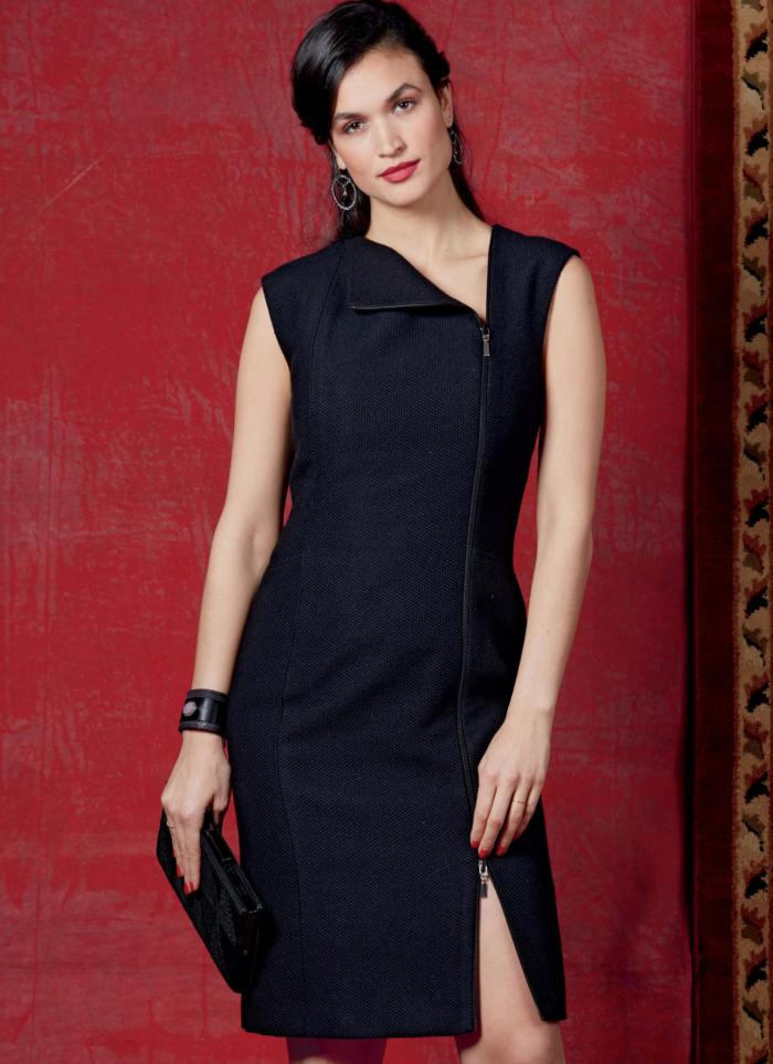 Vogue 1593 dress for brocade and jacquard