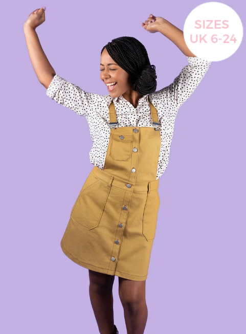 Tilly and the Buttons Bobbi Skirt and Pinafore