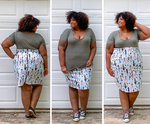 A beginner pattern: the Dream Tee by Amelia Lane Designs