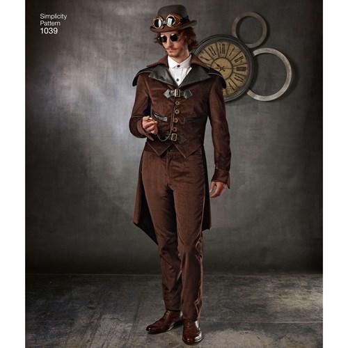 Simplicity 1039 men's steampunk costume