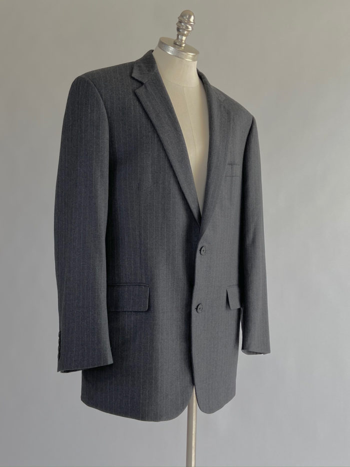 Circa 1990s jacket is part of the men's suit bought to transform in the digital ambassadors challenge