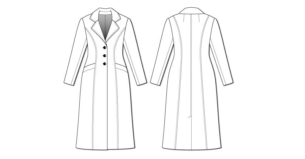 By Hand London Rumana Coat pattern