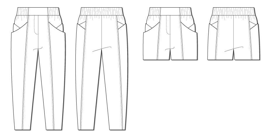 Papercut Patterns Palisade Pants pattern
