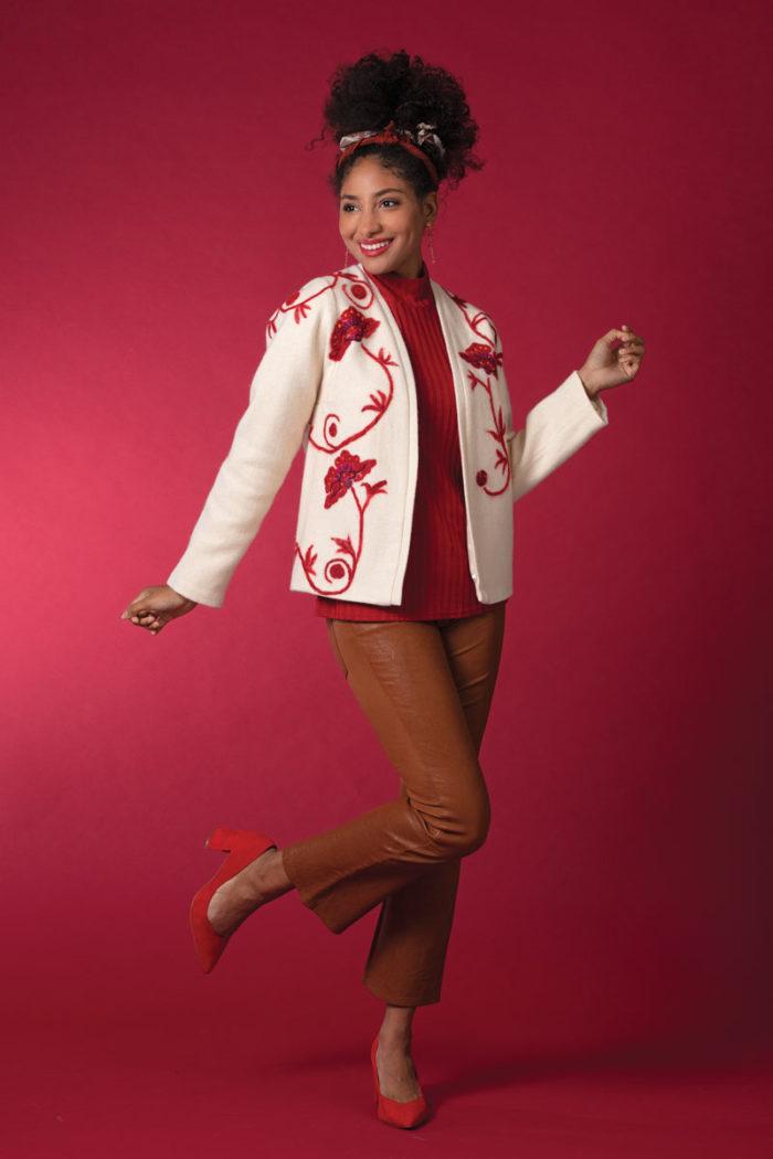 Fit for Art Patterns, Tabula Rosa Jacket