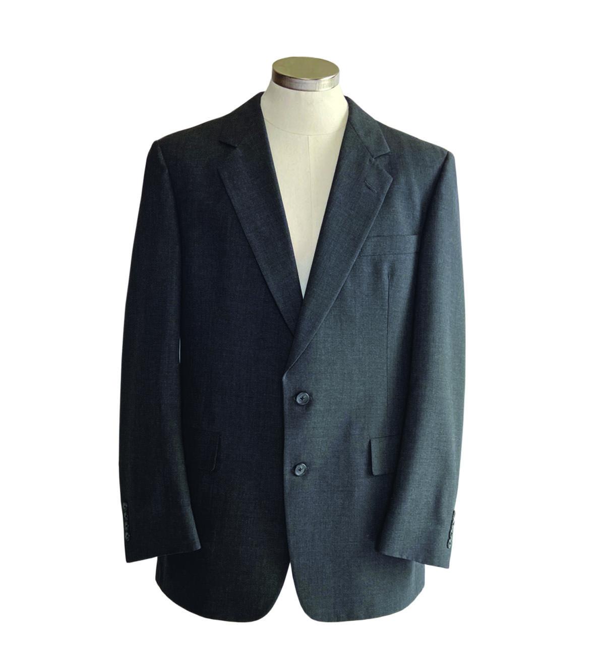 Dark men's suit jacket