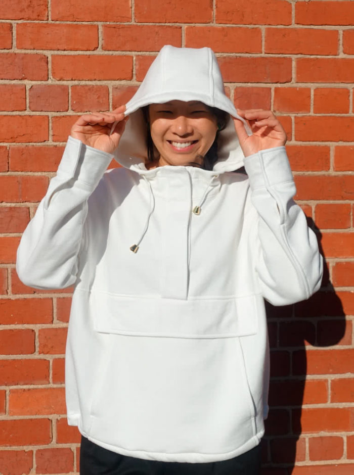 Style Arc Kennedy Hooded Top