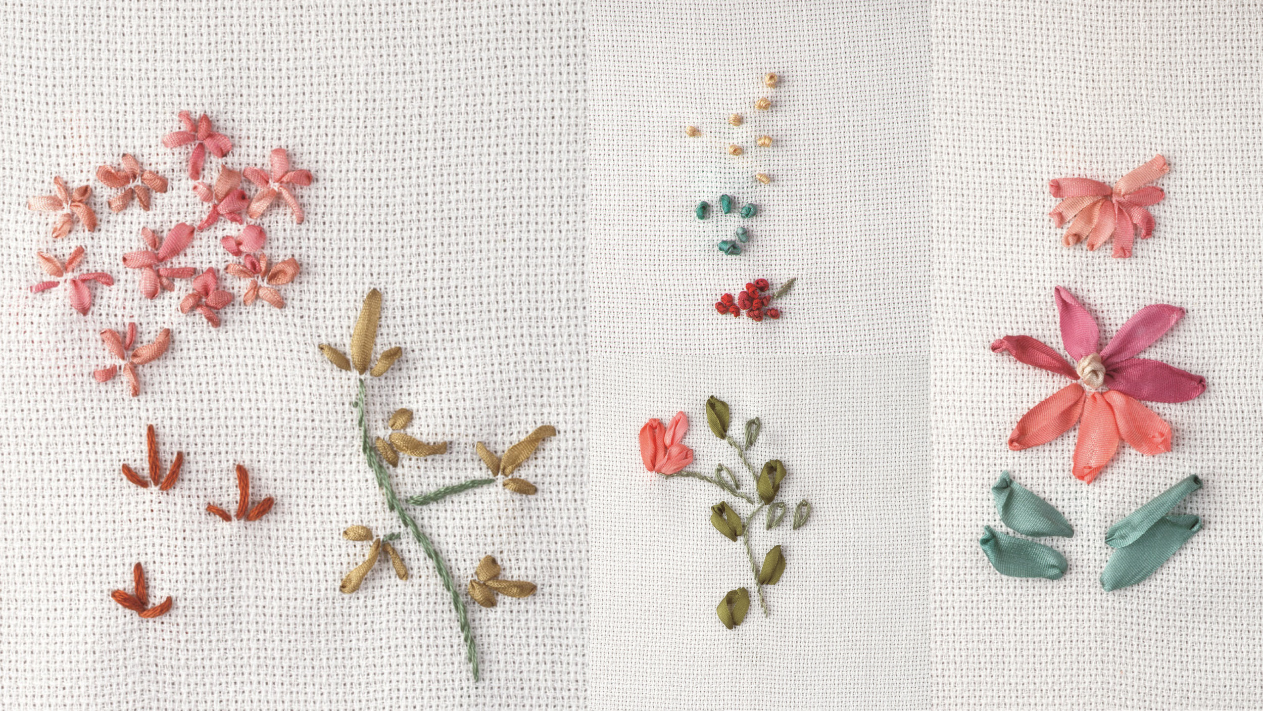 A Beginners' Guide to Silk Ribbon Embroidery   Threads