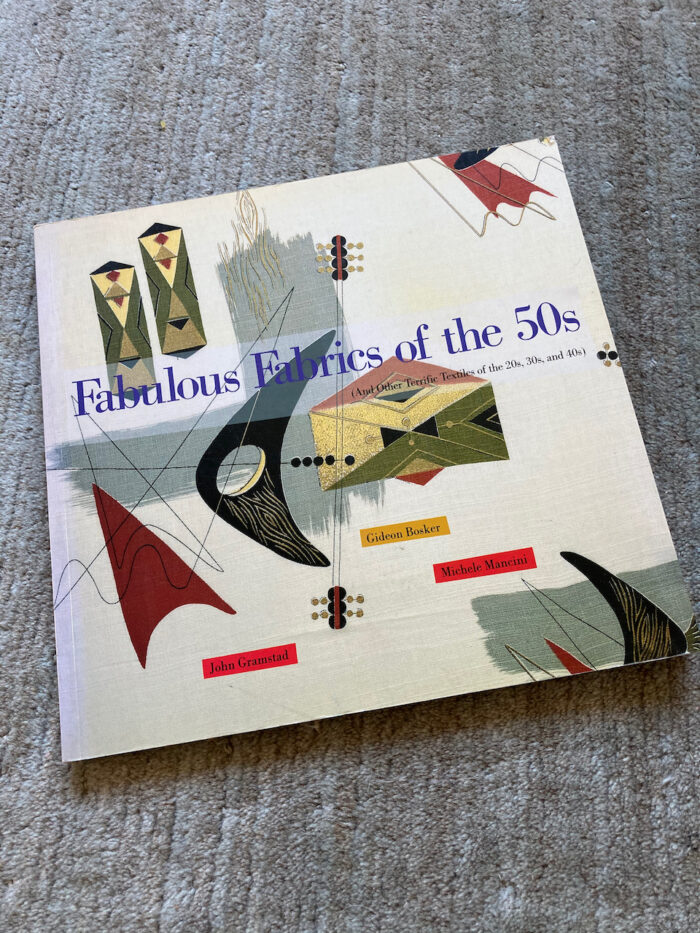 """The book """"Fabulous Fabric of the Fifties"""""""