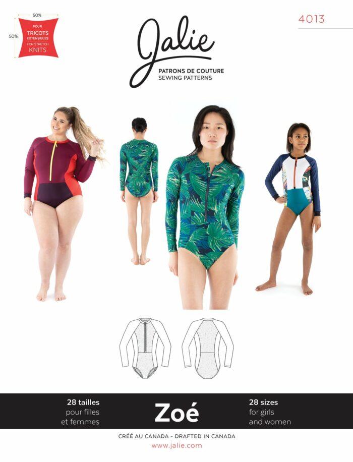 Jalie's Zoe Swim Suit Pattern