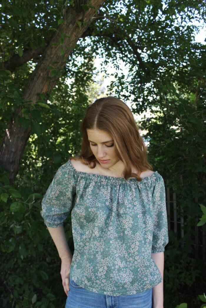 Anna Allen Clothing Lotte Blouse