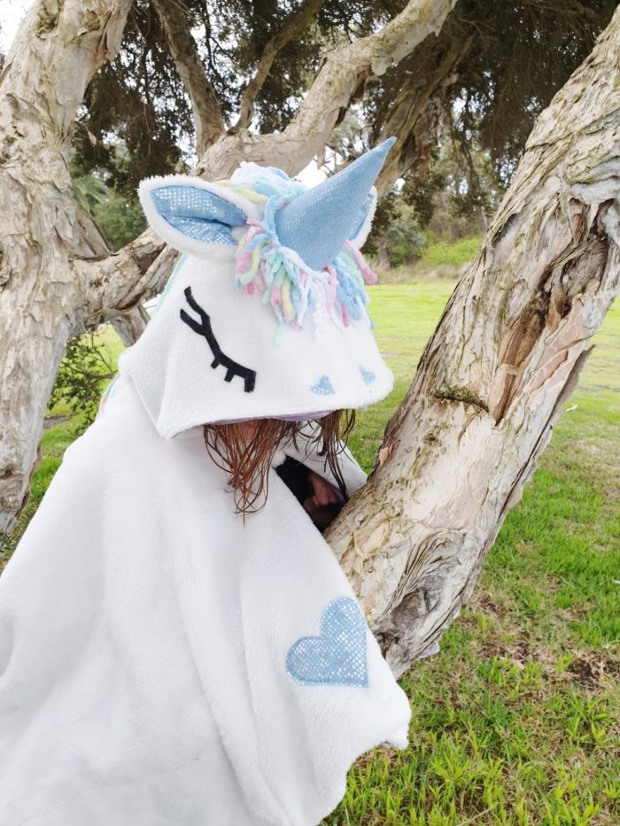 Rebecca Page Kids Unicorn Cape