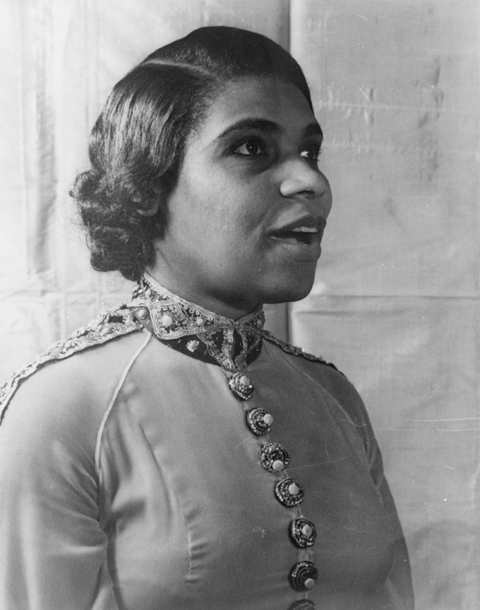 Marian Anderson, 1940. Photographer: Carl Van Vechten, Library of Congress.