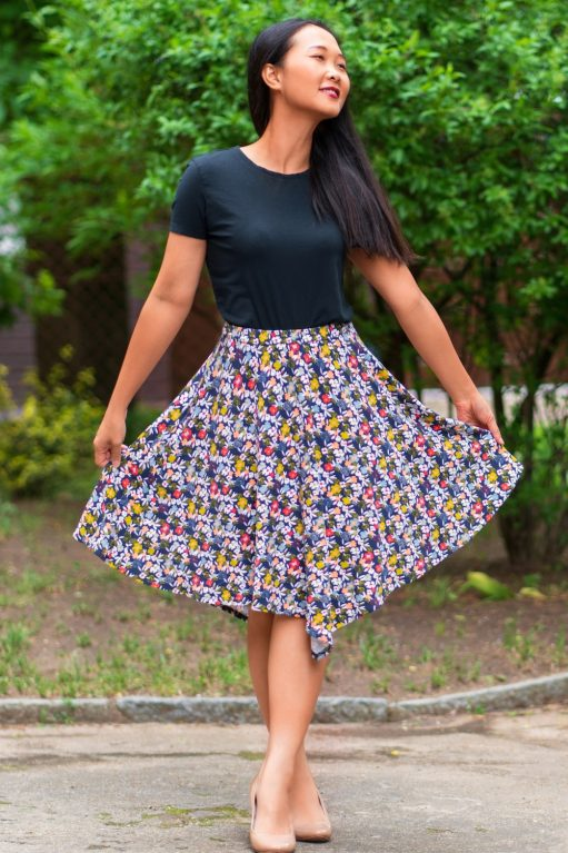 Itch to Stitch Balboa Skirt