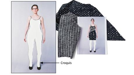 croquis cutout