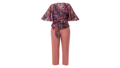decades of style Butterfly Blouse 3005