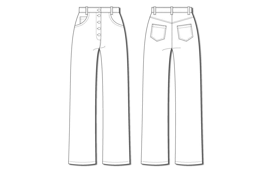 style arc elwood jean illustrated