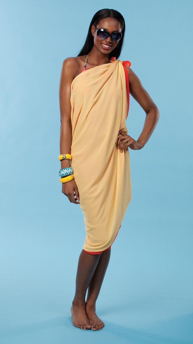 More Ways to Wear It, shoulder dress