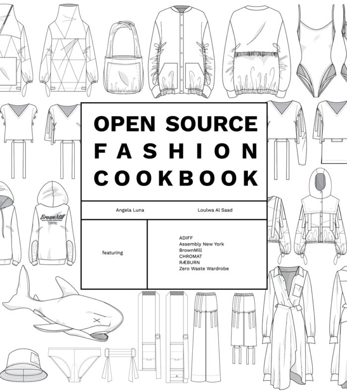 Open Source Fashion Cookbook cover