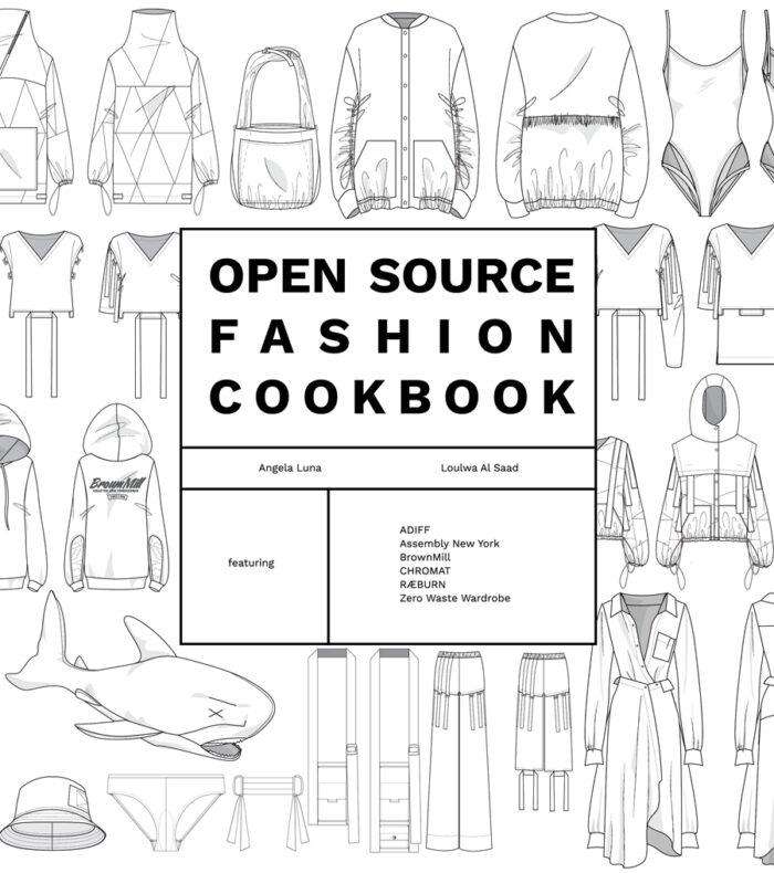 Open Source Fashion Cookbook cover