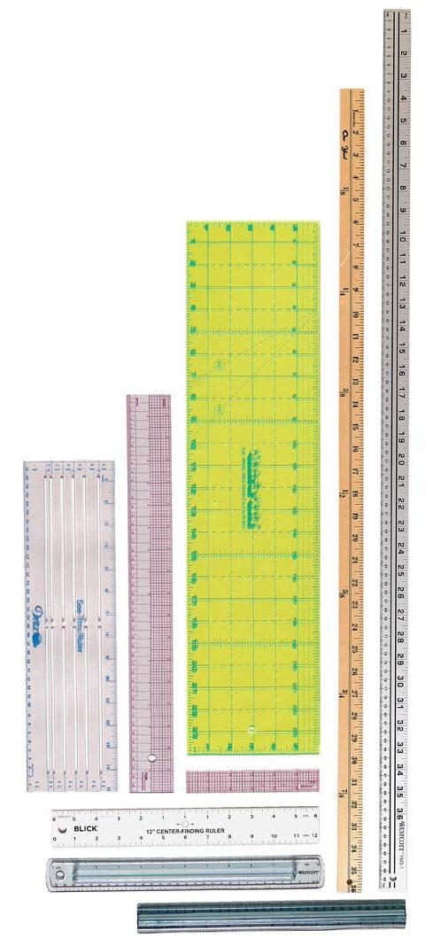 Straight rulers