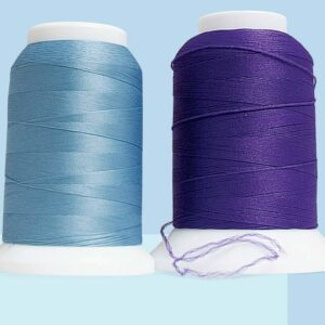Texturized thread (woolly nylon or polyester)