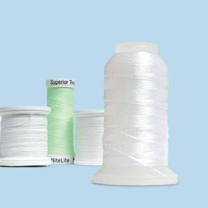 Light-sensitive thread