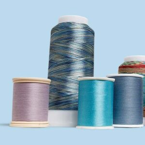 Quilting thread fiber types