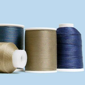 Upholstery thread types
