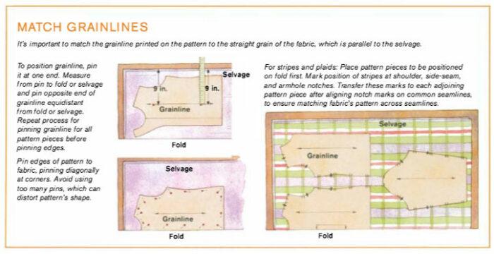 Matching Grainlines