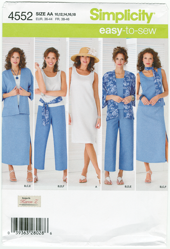 simplicity pattern package