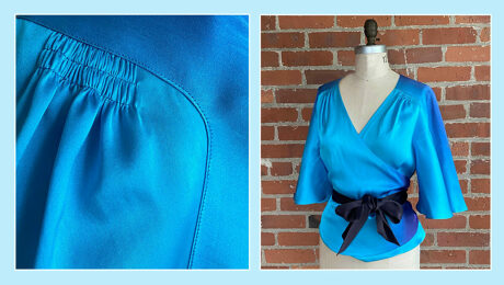 Decades of Style 1930s Butterfly Blouse