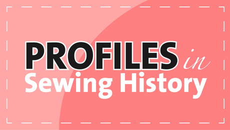 Profiles in Sewing History logo