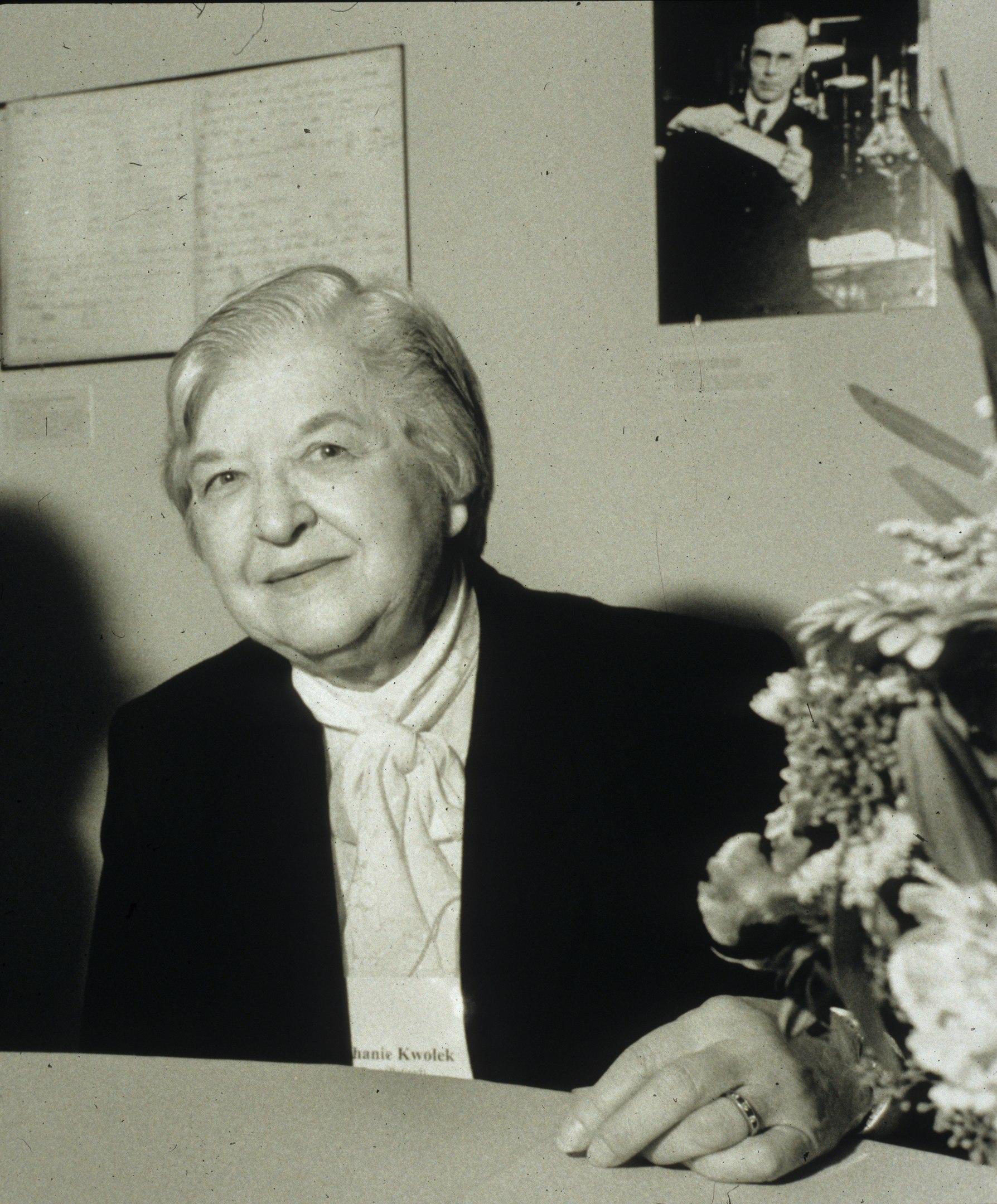 A portrait of Stephanie Kwolek