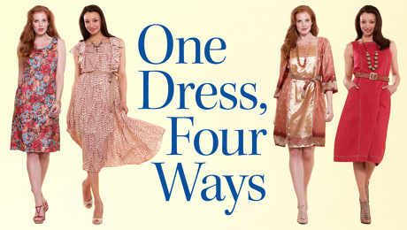 altering a dress pattern
