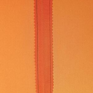 Stitched and pinked seam allowances