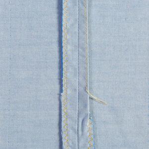 Single-fold seam finish