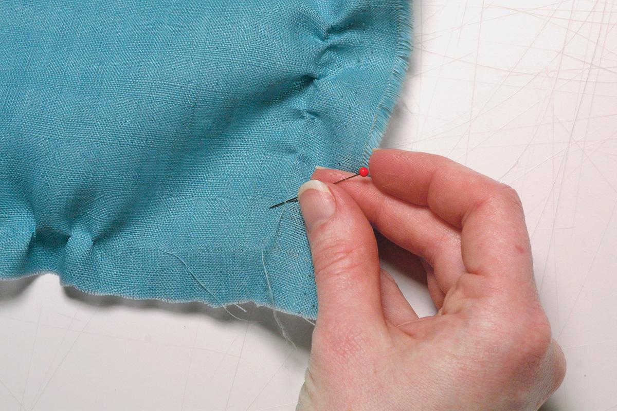 woven fabrics grain