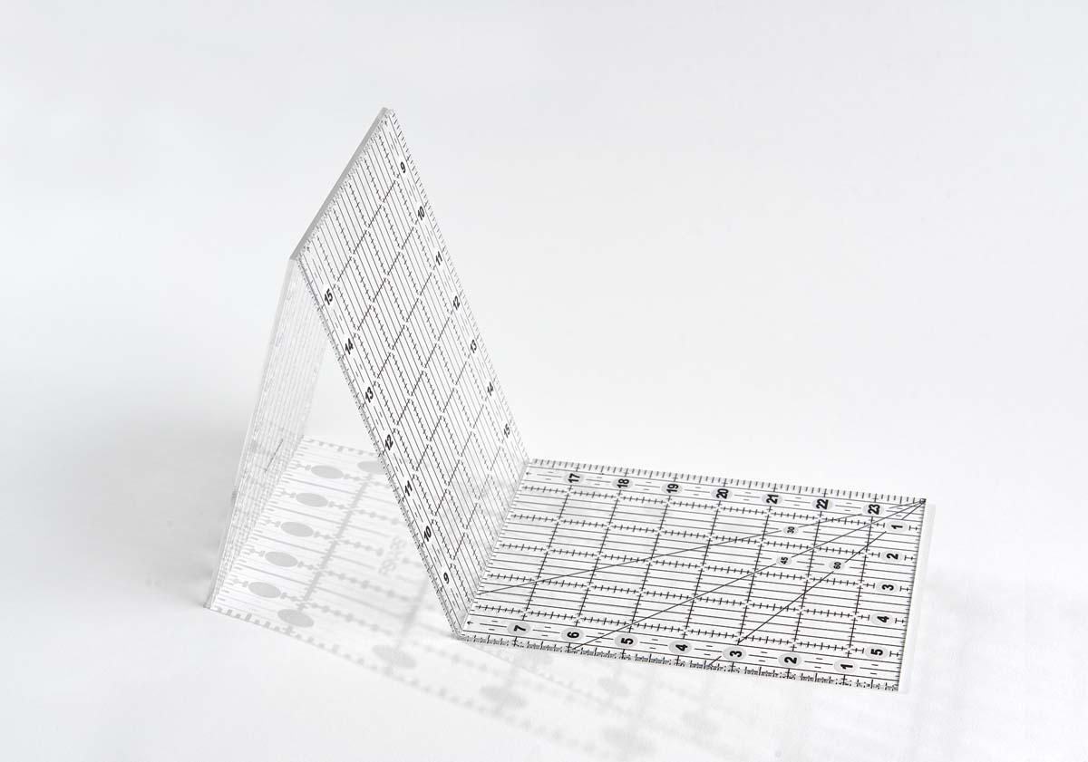 Fiskars folding ruler, $17.79 (DickBlick.com).