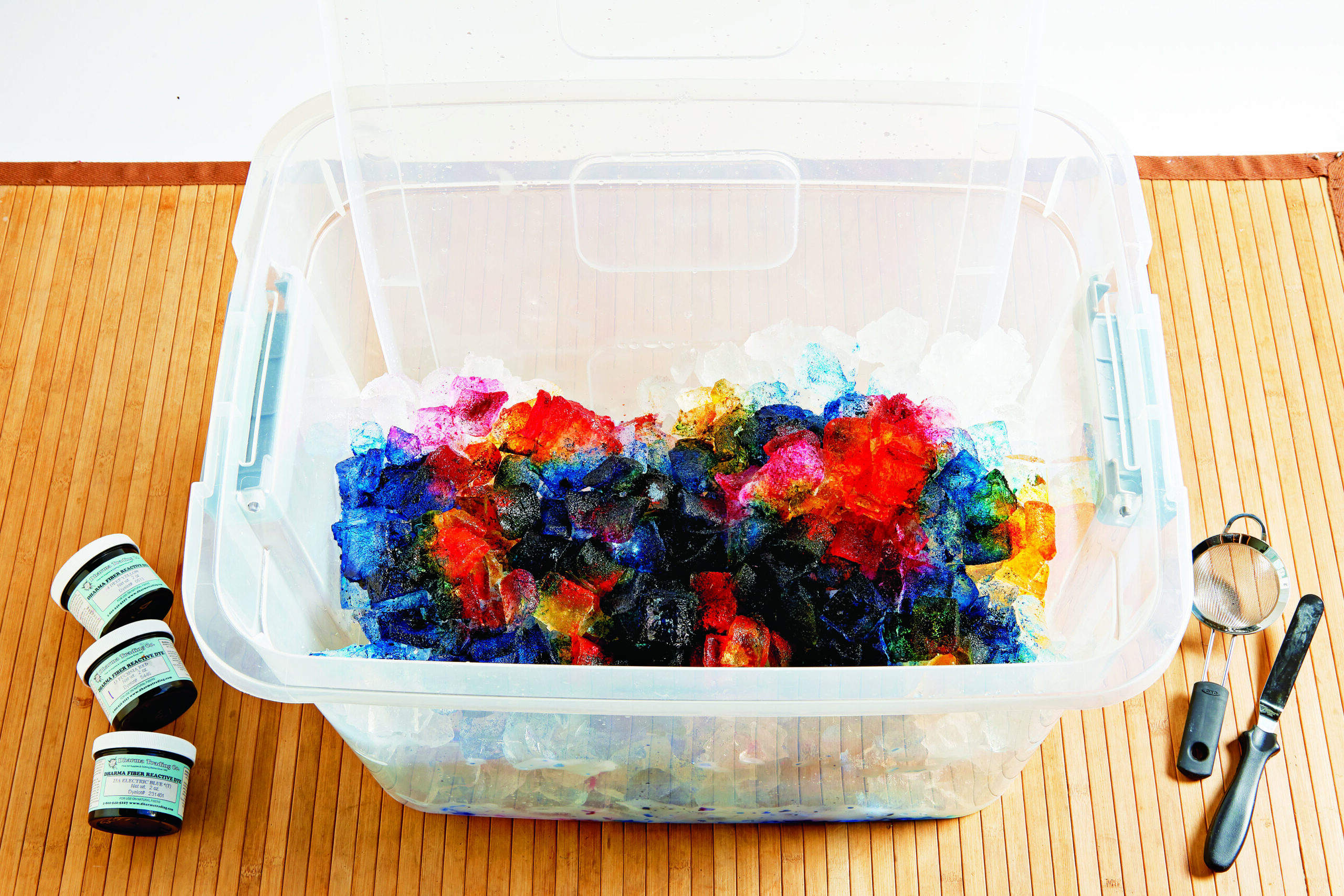 Ice Dyeing Fabric