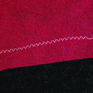 Narrow zigzag stitch