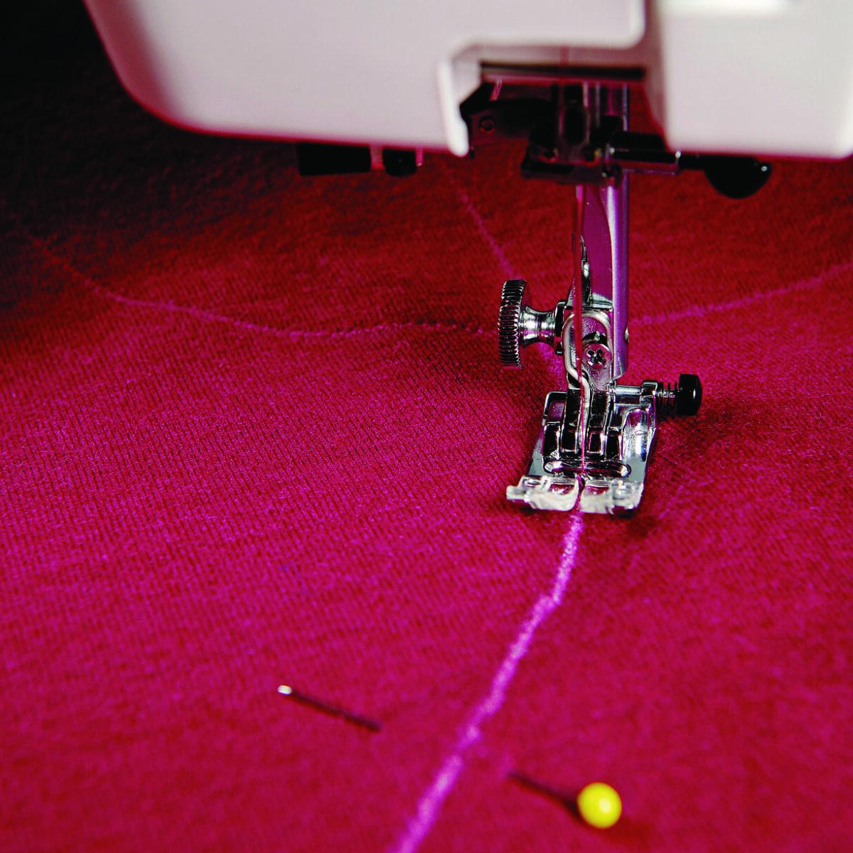 Stitch the design