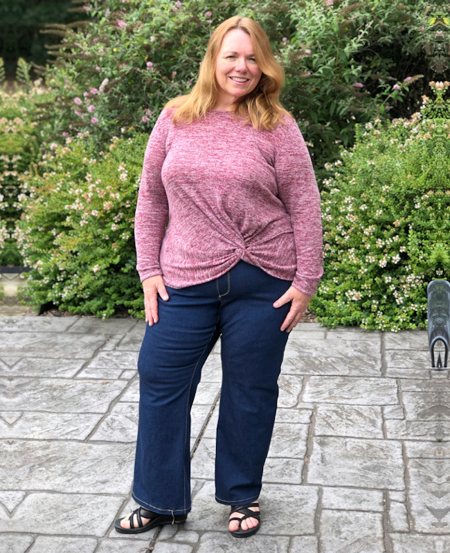 Itch to Stitch Mountain View Pull on Jeans